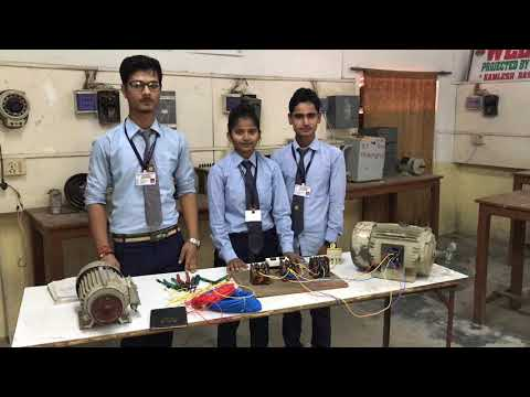 Diploma in Electrical Engineering | performing practical | star delta automatic mode.