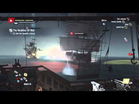 Assassin's Creed 4 - Naval Contract - The Realities of War Walkthrough