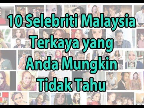 Top 10 Artis Malaysia Terkaya 2018 - Lihat Sini