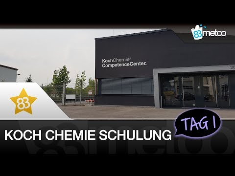 Koch Chemie Schulung Fahrzeugaufbereitung Tag1 | Koch Chemie QS Quick & Shine, CLS Clay Spray uvm.