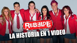 REBELDE: La Historia en 1 Video