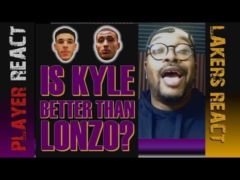 LA Lakers Fan Reaction: Lonzo Ball or Kyle Kuzma. Who you got? News | Scores | Game Highlights | NBA