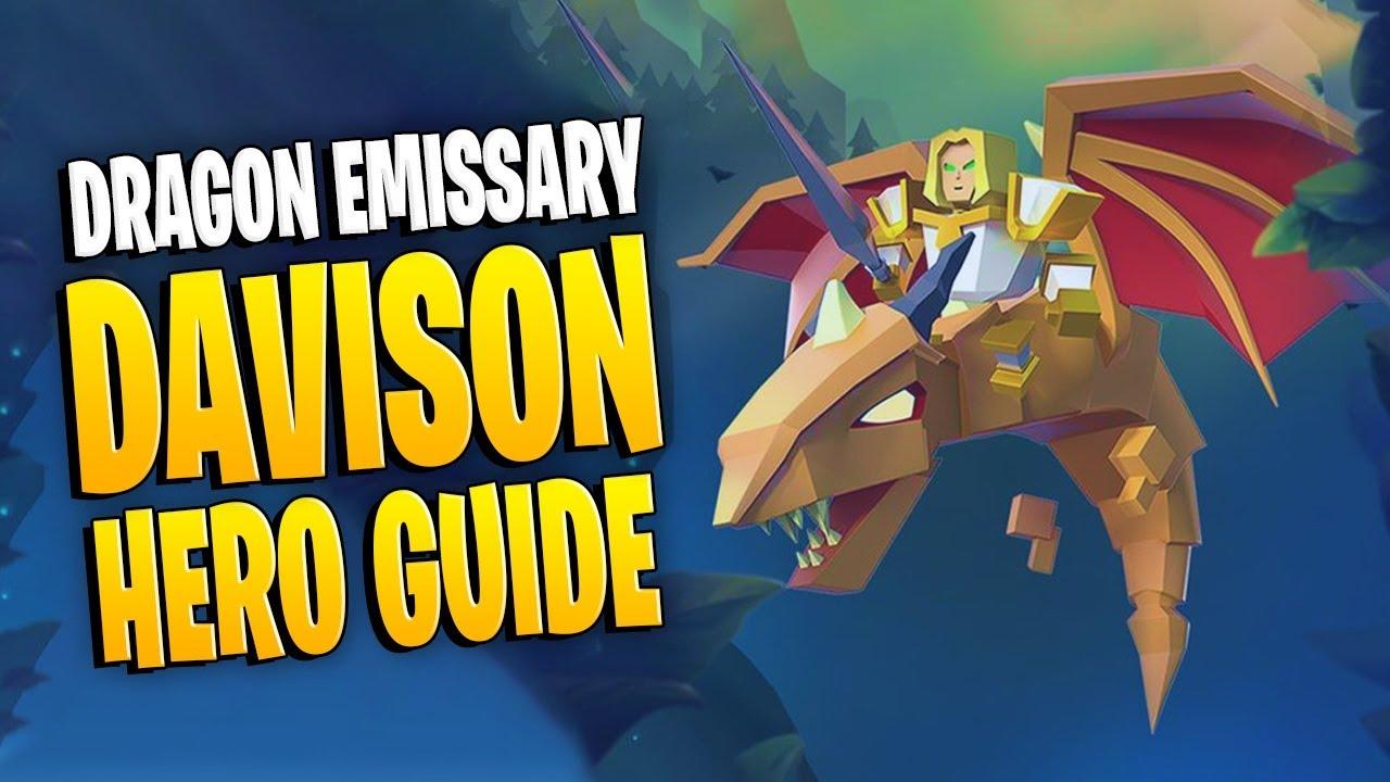 Dragon Emissary - Davison Hero Guide   Art of War ...