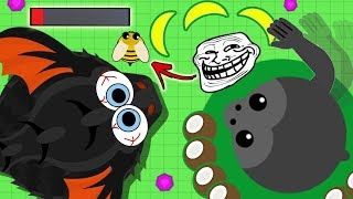 the LUCKIEST gorilla troll in mope.io... jk 😭