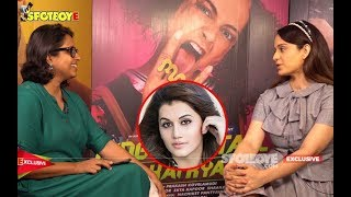 Kangana Ranaut Singles Out Taapsee Pannu On Sasti Copy Controversy   Exclusive   SpotboyE