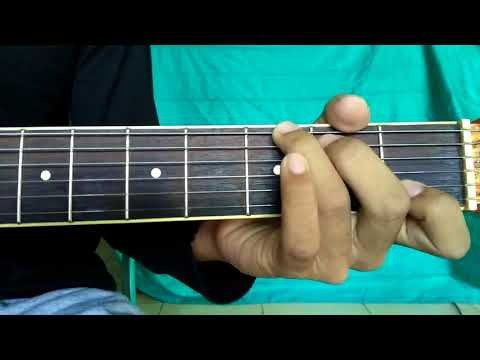 Tutorial Melodi Gitar Sakitnya Tuh Di sini