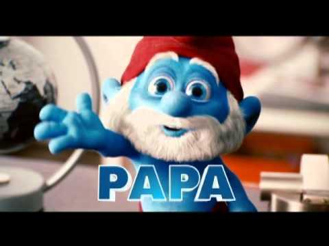Meet Papa Smurf!  THE SMURFS