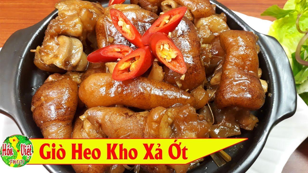 ✅ Món Giò Heo Kho Sả Cả Nhà Thích Thú Ngày Cuối Tuần | Hồn Việt Food