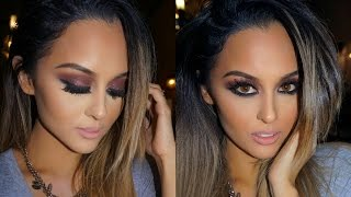 Deep Plum Smokey Eye Fall Makeup Tutorial