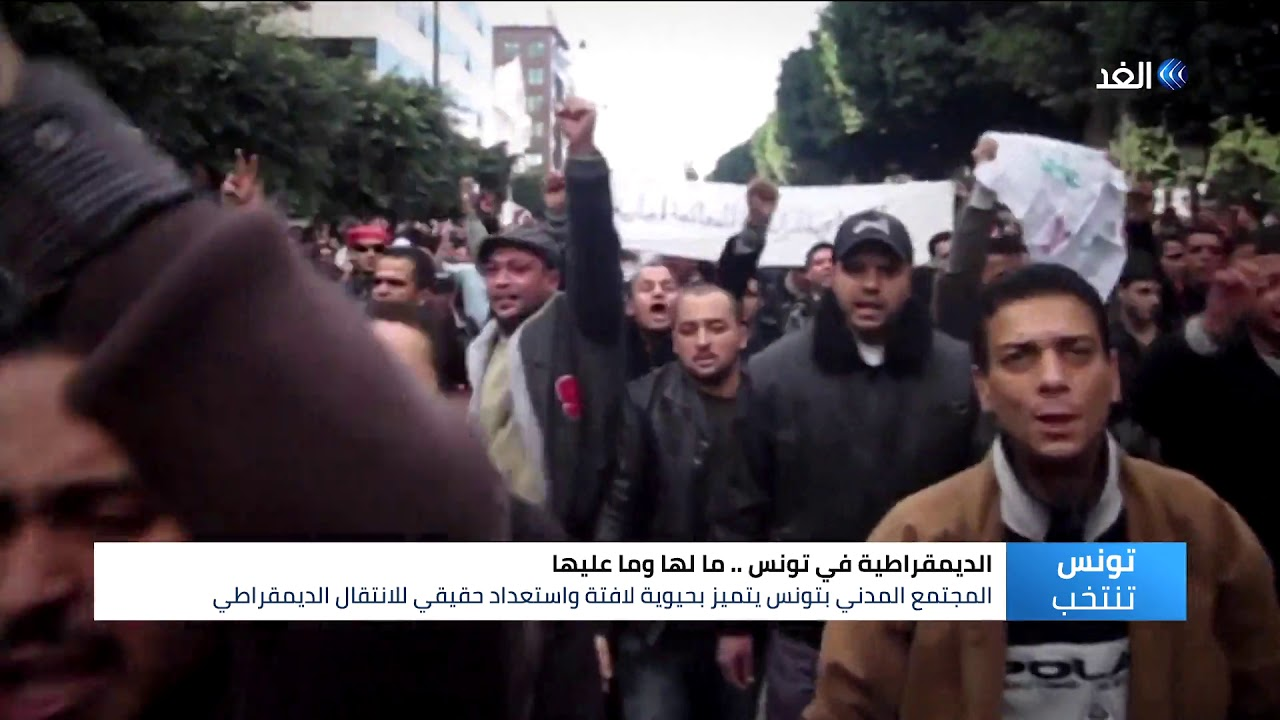 قناة الغد:الديمقراطية في تونس.. ما لها وما عليها