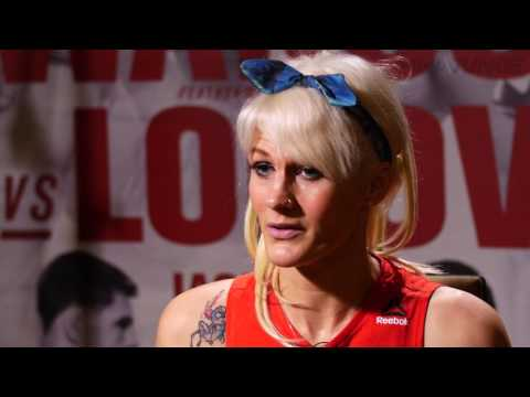Cindy Dandois embracing nerves associated with big fight at UFC Fight Night 108