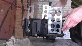 видео Ремонт печки (заслонки,  вентилятора) на ВАЗ 2110
