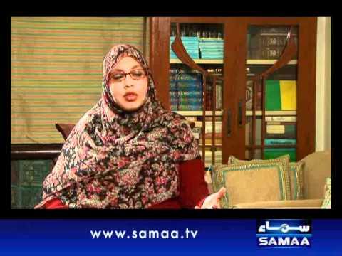 Wardaat Oct 19, 2011 SAMAA TV 3/4