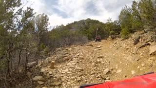 ATV Ride: Rim, Dry Creek, in Montrose County, Colorado