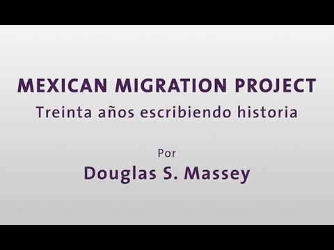 Mexican Migration Project por Douglas S. Massey