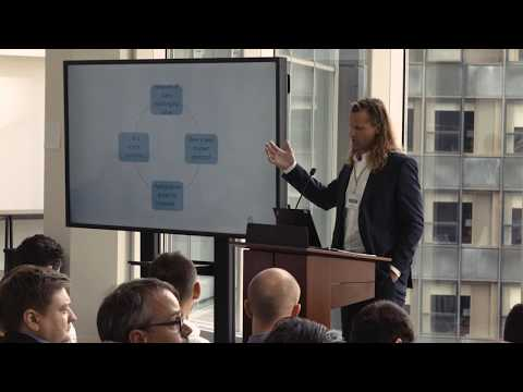 International Blockchain Real Estate Association, NYC Conference 2017 - Ragnar Lifthrasir