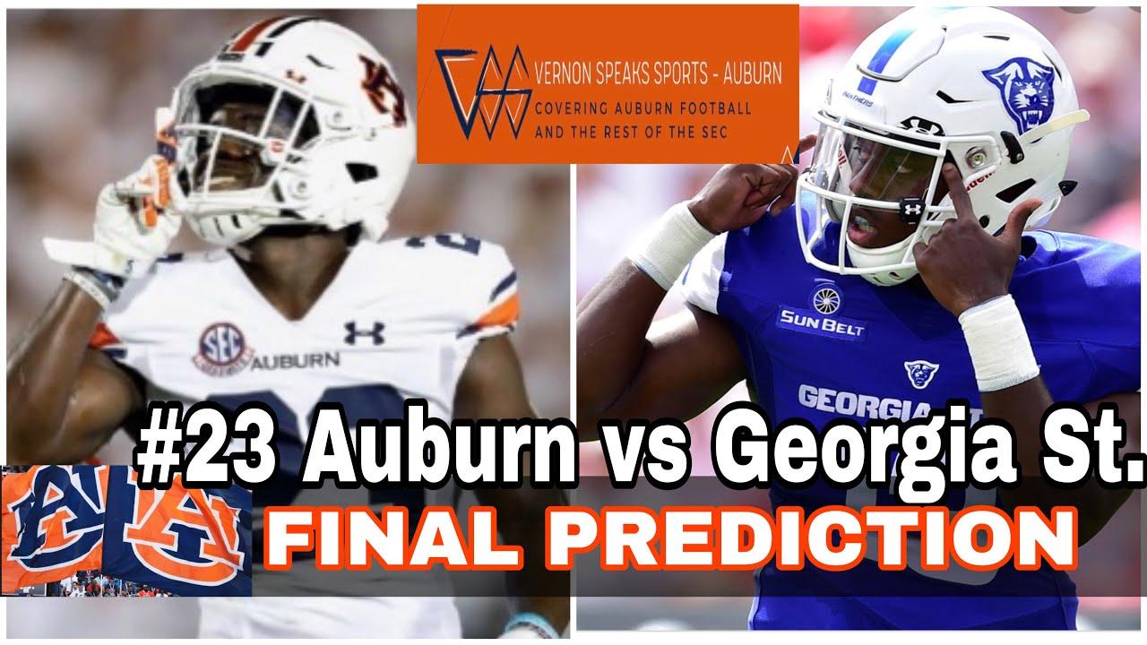 #23 Auburn vs Georgia State Final Prediction