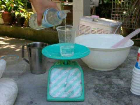 น้ำมันพืชที่เหลือใช้ นำมาทำสบู่ซักล้าง