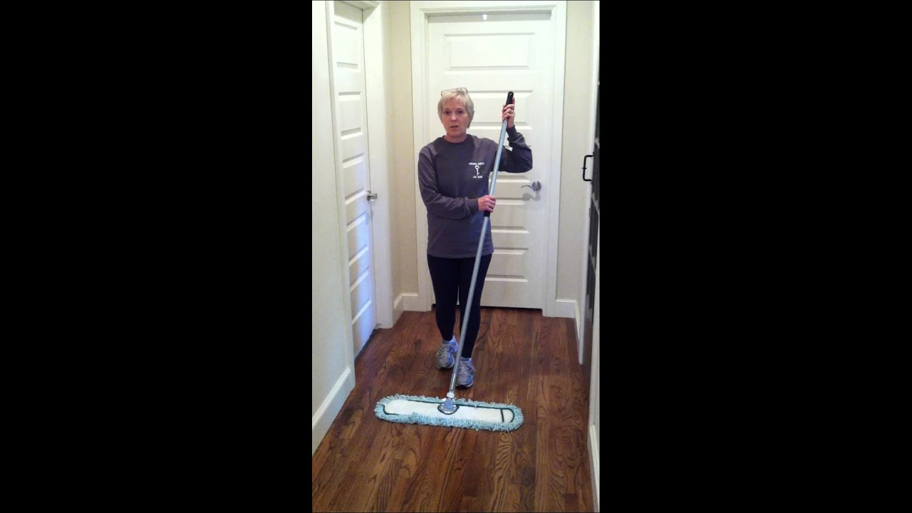 Housekeeping tips: Revolutionary dust mop