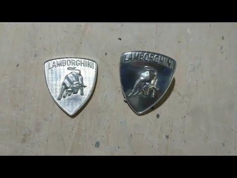 Самодельный значок Lamborghini Veneno (Cip garage)