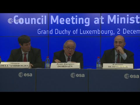 ESA Ministerial Council 2014: Press conference replay