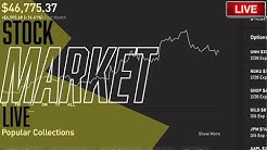 THE POWELL PUT!? - S&P & DOW, Live Trading, Robinhood App, Stock Picks, Day Trading & STOCK NEWS