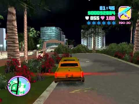 Let's play GTA Vice City #9: I am a policeman! Joke!