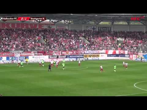 35.ST Spielbericht Hallescher FC - Stuttgarter Kickers
