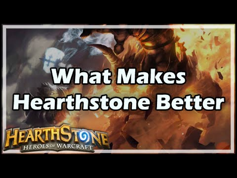 [Hearthstone] What Makes HS Better