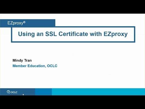 SSL configuration - OCLC Support