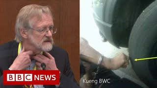 George Floyd died from lack of oxygen, not fentanyl, says expert - BBC News