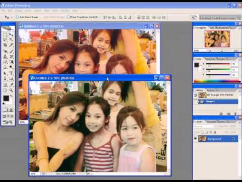 Photoshop CS2 - Phan 22 - Bai 2 - Hieu chinh anh tren Scan truoc khi vao Photoshop