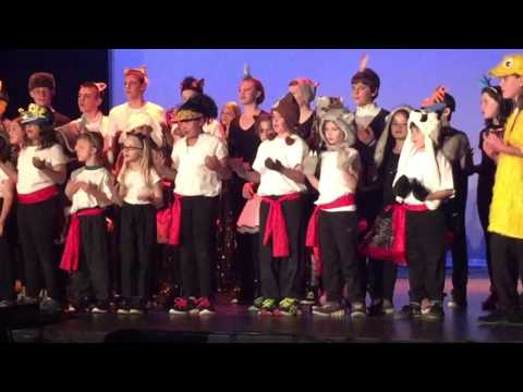 Londonderry School Play 2016 - animal chorus