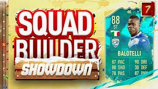 Fifa 20 Squad Builder Showdown Advent Calendar!!! FLASHBACK BALOTELLI!!! Day 7 Vs Theo