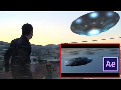 After Effects ile Ufo Yapımı | After Effects Dersleri