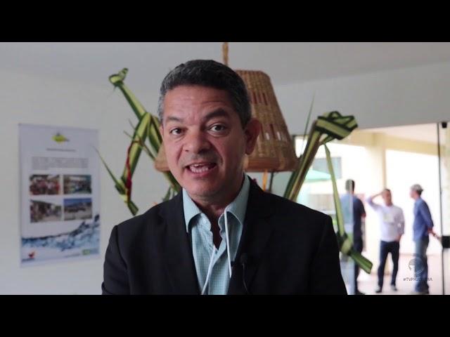 Secretário executivo da Semarh, Alex Gama, fala sobre o uso do Canal do Sertão