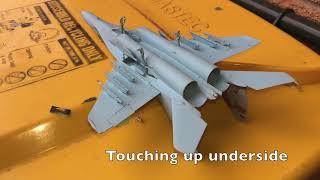 1:72 Zvezda MiG-29 9.13 Fulcrum C Uzbekistan