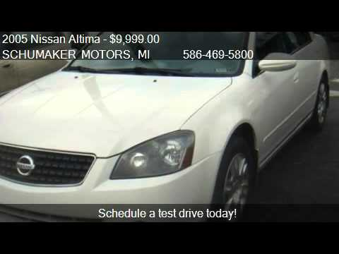 2005 nissan altima 2 5 s for sale in clinton township. Black Bedroom Furniture Sets. Home Design Ideas