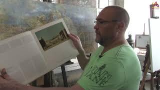 Видео урок живописи - Венецианская кобальтовая дверь