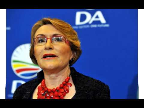 helen zille showing off her talents