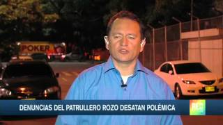 """""""No guardaré silencio"""": patrullero Rozo"""
