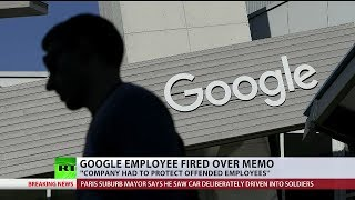 Google employee fired over memo offered job at Wikileaks