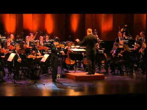 Prokofiev Violin Concert No.2 - Angelo Xiang Yu (1st Prize) at Menuhin Competition 2010