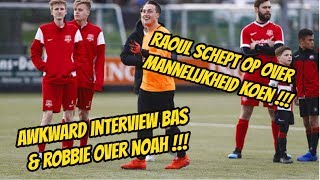 Awkward interview met Robbie & Bas over Noah alias Simba. Raoul onthult GROOT geheim over Koen.