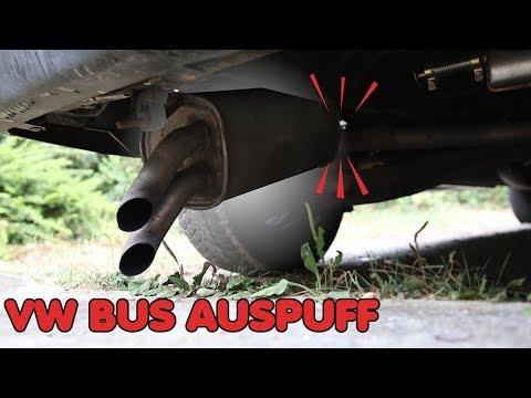 AUSPUFF ABGEBROCHEN - WAS NUN?   VW T4 Bus Reparatur thumbnail