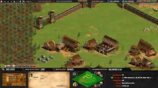 Age of empires II - GAME 2 - Njord21 vs WolfSilver- BATTLE POUR LE TITRE