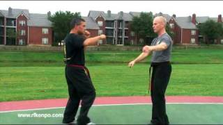 Flashing Mace - An American Kenpo Self Defense Technique by Rick Fowler