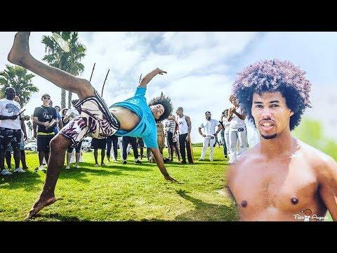 Amazing Capoeira Skills Aranha CDO {Brazilian Martial Arts}