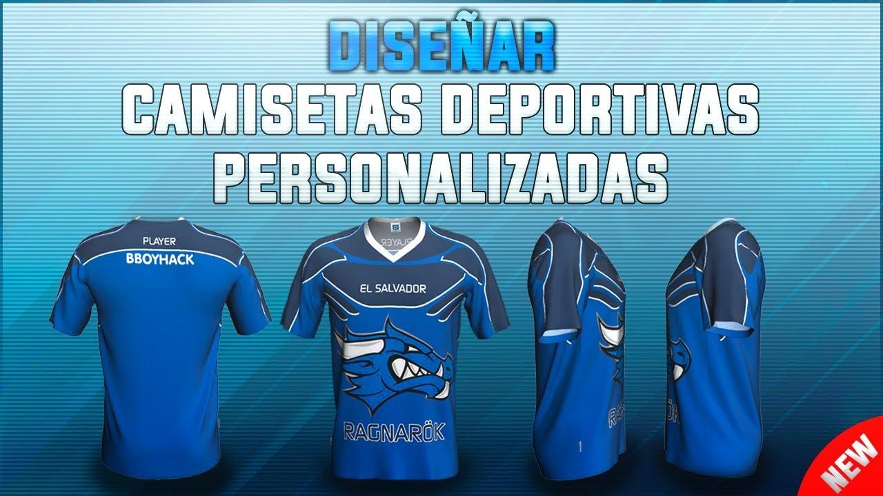 C mo dise ar camisetas para equipo deportivo esport for Disenar mi casa online