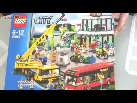 LEGO City Town Square 60026 SPEED BUILD! - YouTube